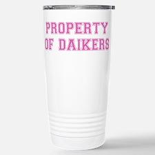 Property of Daikers Travel Mug