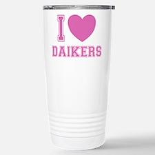 I Love Daikers Travel Mug