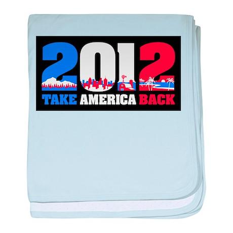 Take America Back 2012 baby blanket