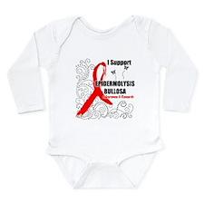 Cute Epidermolysis Long Sleeve Infant Bodysuit