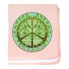 Peaceful Tree Hugger baby blanket