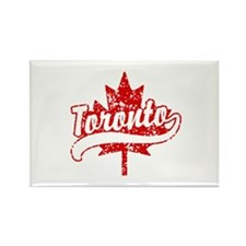 Toronto Canada Rectangle Magnet