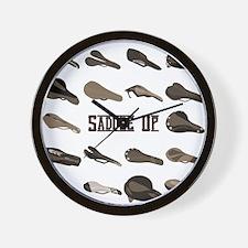 Saddle Up Wall Clock