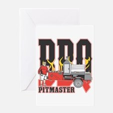 BBQ Pit master Greeting Card