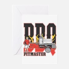 BBQ Pit master Greeting Cards (Pk of 10)