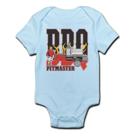 BBQ Pit master Infant Bodysuit