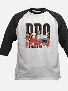 BBQ Pit master Kids Baseball Jersey