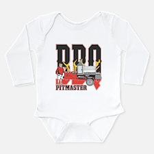 BBQ Pit master Long Sleeve Infant Bodysuit