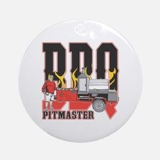 BBQ Pit master Round Ornament