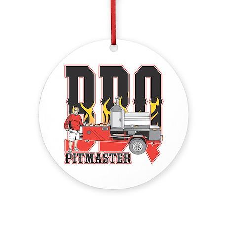 BBQ Pitmaster Ornament (Round)