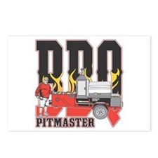 BBQ Pitmaster Postcards (Package of 8)