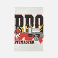 BBQ Pit master Rectangle Magnet (100 pack)