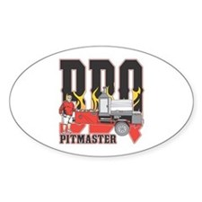 BBQ Pit master Decal
