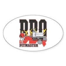 BBQ Pitmaster Decal
