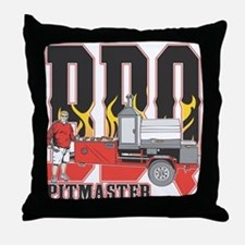 BBQ Pit master Throw Pillow