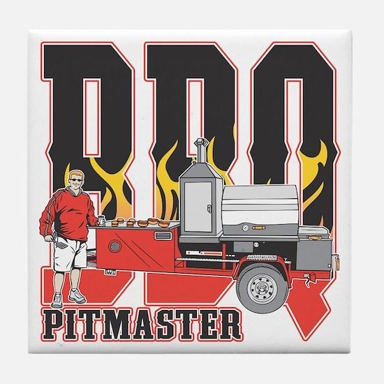 BBQ Pit master Tile Coaster