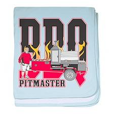 BBQ Pitmaster baby blanket