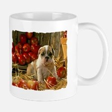 BULLDOG APPLES PUPPY Mug