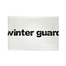 WINTER GUARD: Commitment Quot Rectangle Magnet