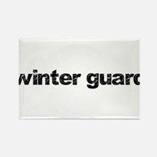 WINTER GUARD: Commitment Quot Rectangle Magnet