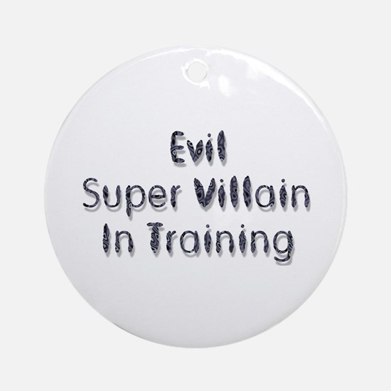 Super Villain Ornament (Round)