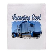Running Cool Throw Blanket