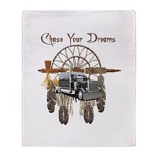 Chase Your Dreams Throw Blanket