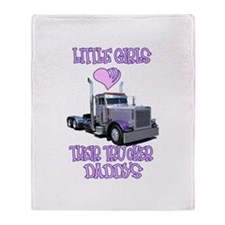 Little Girls Love Their Littl Throw Blanket