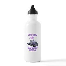 Little Girls Love Their Littl Water Bottle