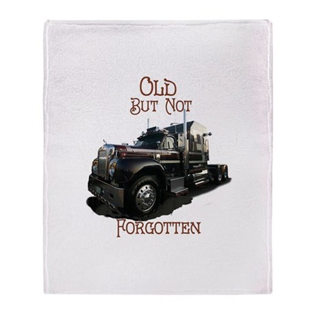 Old But Not Forgotten Throw Blanket