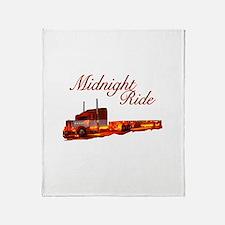 Midnight Ride Throw Blanket