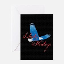 Liberty is our Heritage Greeting Card