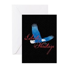 Liberty is our Heritage Greeting Cards (Pk of 10)