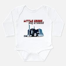 Little Shack Big Stacks Long Sleeve Infant Bodysui