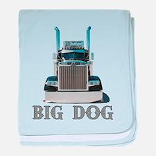 Big Dog baby blanket