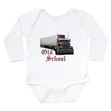 Old School Long Sleeve Infant Bodysuit