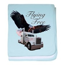 Flying Free baby blanket