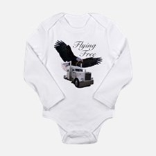 Flying Free Long Sleeve Infant Bodysuit