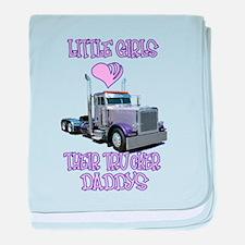 Little Girls Love Their Littl baby blanket