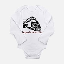 Legends Never Die Long Sleeve Infant Bodysuit