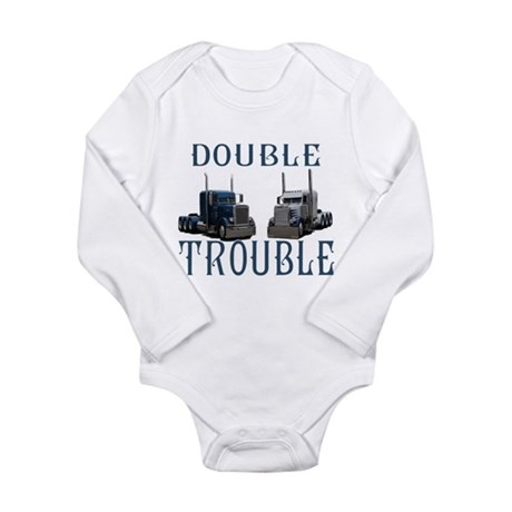 Double Trouble Long Sleeve Infant Bodysuit