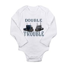 Double Trouble Long Sleeve Infant Bodysuit