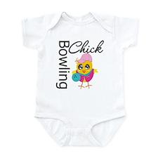 Bowling Chick Infant Bodysuit