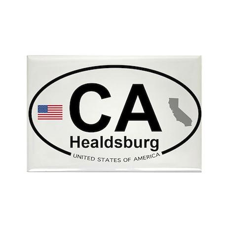 Healdsburg Rectangle Magnet (100 pack)
