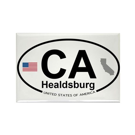 Healdsburg Rectangle Magnet (10 pack)