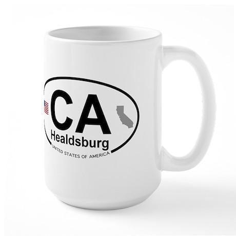 Healdsburg Large Mug