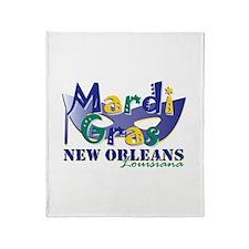 MG NOLA Pl Mk Throw Blanket