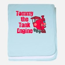 Thomas's Motorcycle Racing baby blanket