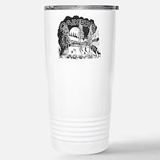 Daikers Logo Stainless Steel Travel Mug