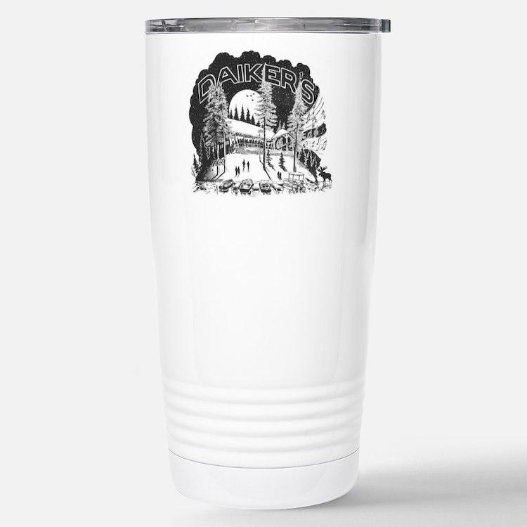 Daikers Logo Travel Mug